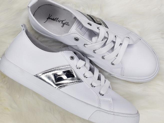 Tenis Sneakers Casuales Dama Kendall   Kylie Blancos -   700.00 en ... 74858263491