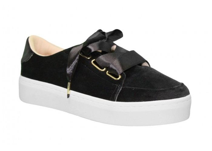 53a805a29292c Tenis Sneakers Negros De Moda Para Mujer. Envío Gratis -   339.00 en ...