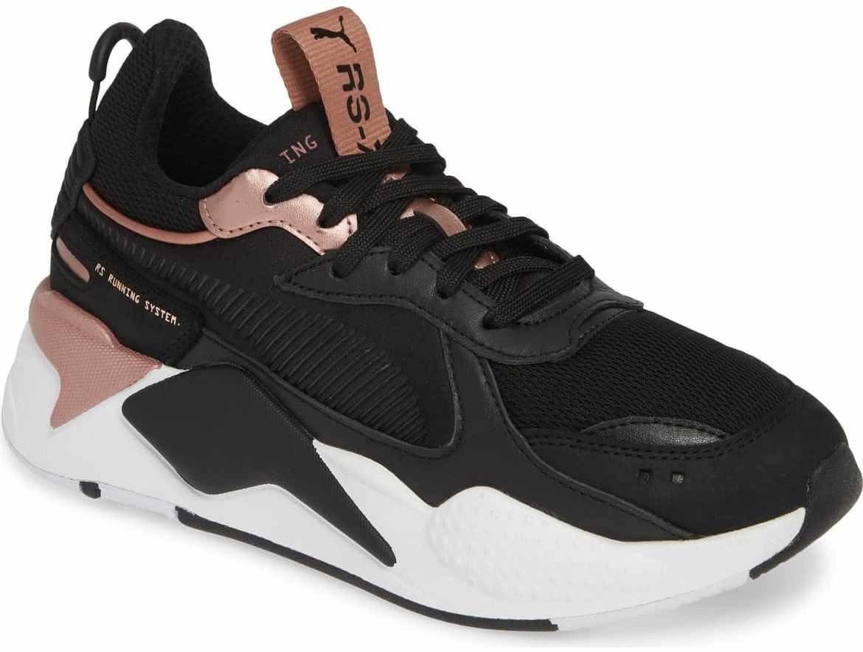 4bb4f51b48e tenis sneakers puma rs-x trophies negro rosa. Cargando zoom.