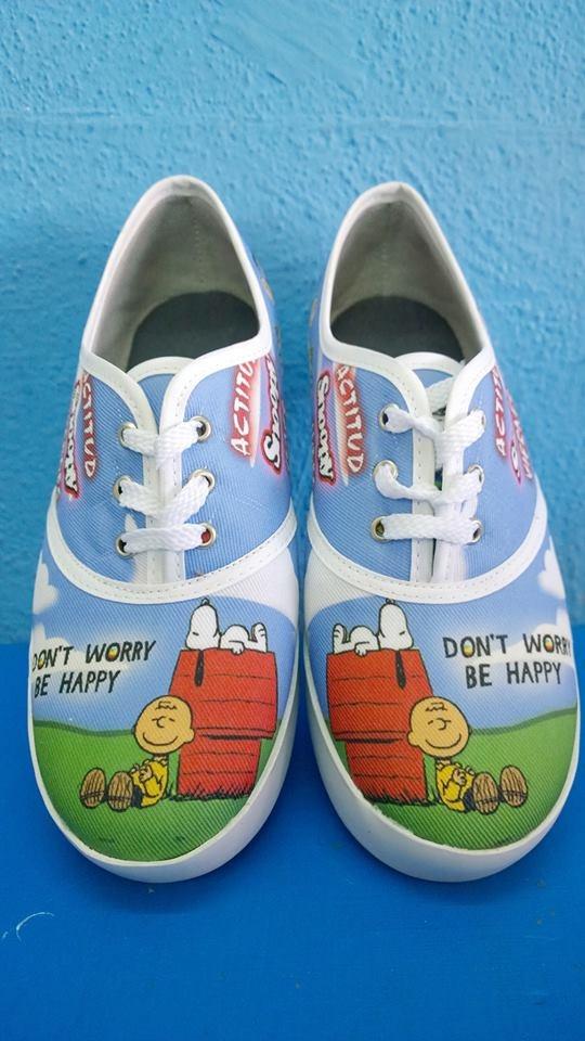 Tenis Snoopy -   380.00 en Mercado Libre 4499019f750