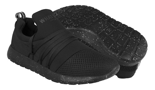 tenis sport what´s up para mujer textil negro 152758