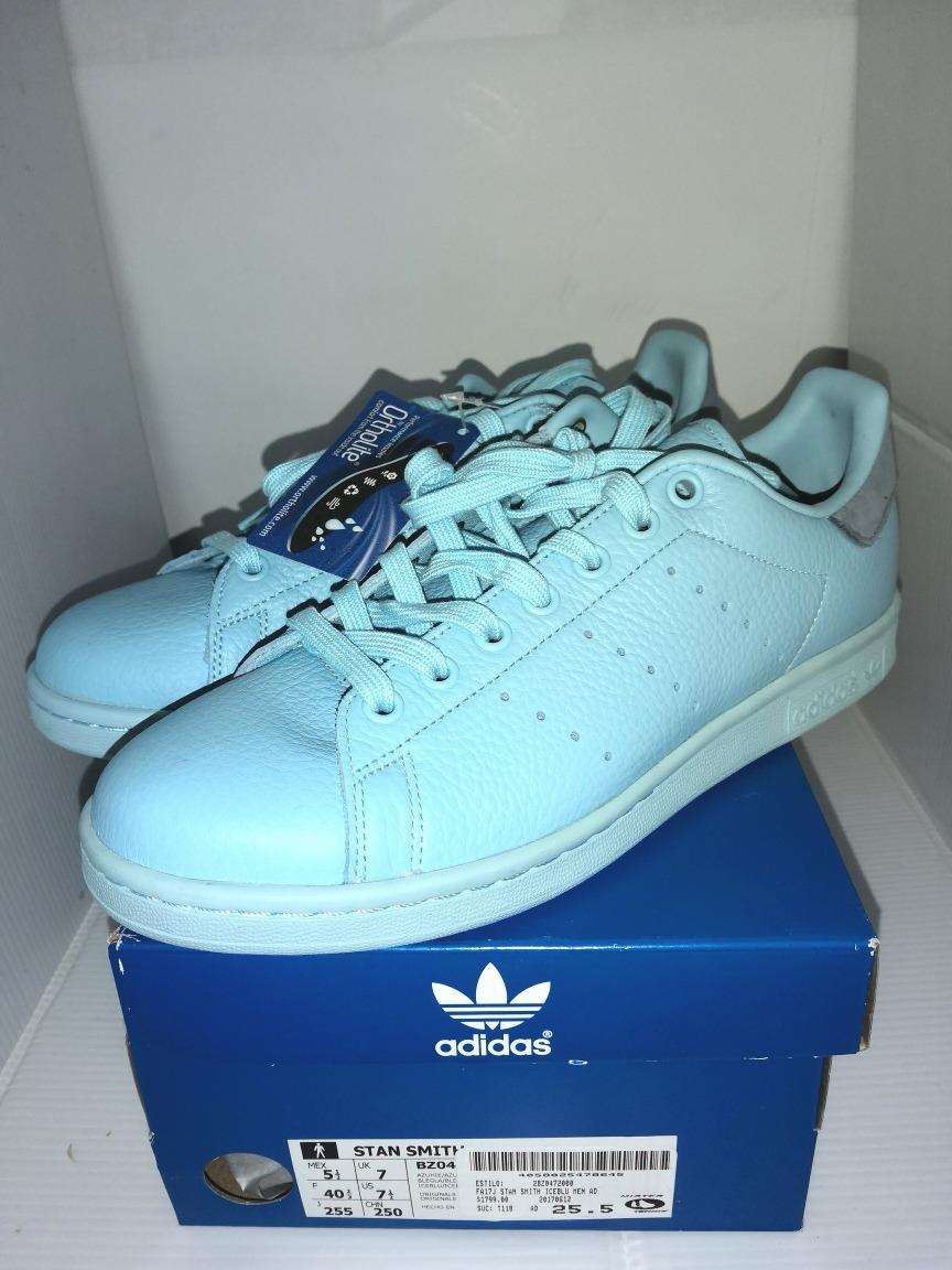 new arrivals e79a0 aa5dc Tenis Stan Smith Ice Blue adidas Originals En Oferta N.5 1/2