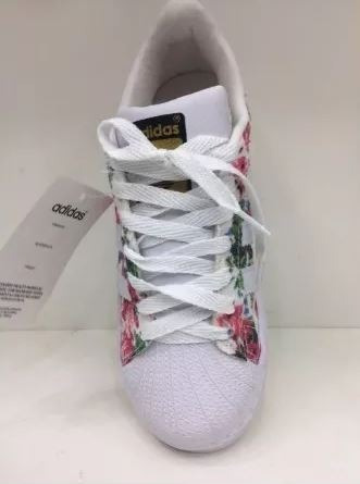 5033ea5a6da091 Tenis Superstar Floral adidas Florido Mega Oferta - R$ 209,99 em ...