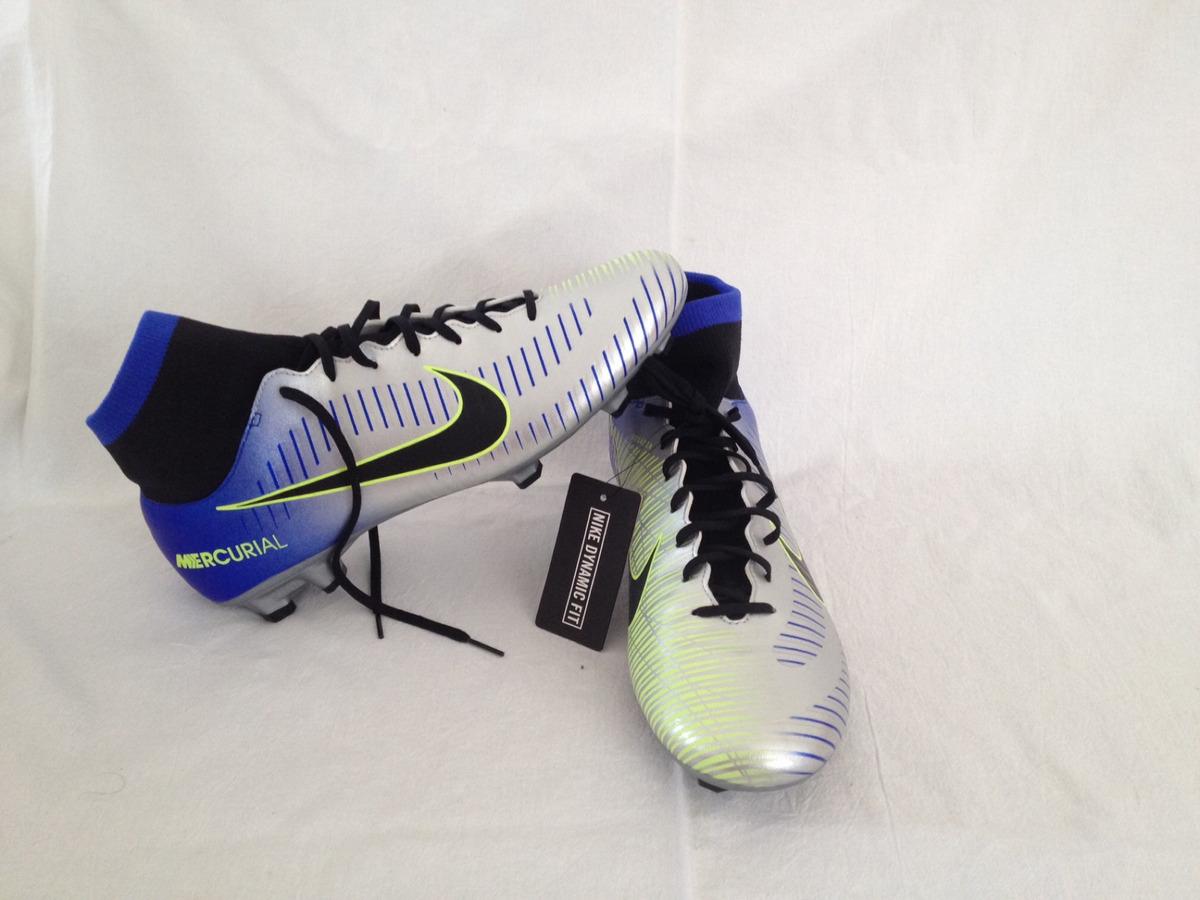 sports shoes 20f13 d2a0a Tenis Tacos Nike Mercurial Victory Vi Df Njr Fg 9.0 Mex.