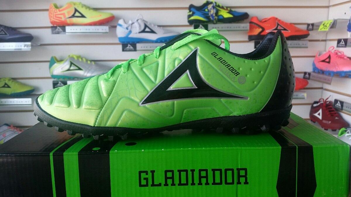 Tenis Tacos Tachones Turf Pirma Gladiador Verde -   698.00 en ... 19fa5eb6894bc