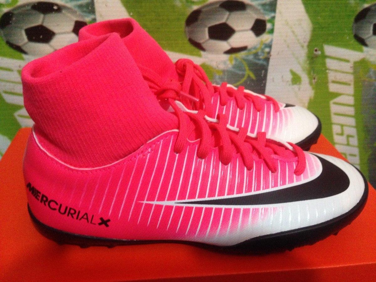 74df134ef444e Tenis Tf Nike Mercurial Vortex Cr7 100%original Botita Niño ...