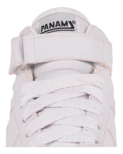tenis tipo bota panam blanco 11277 niño