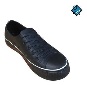 zapatos tipo converse mujer