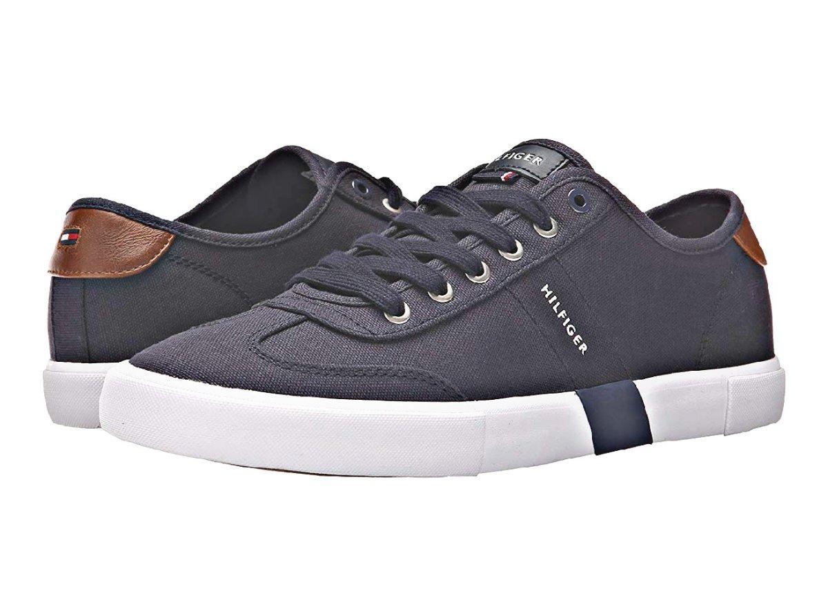 Luxus kaufen detaillierte Bilder Neueste Mode Tenis Tommy Hilfiger Hombre Fashion Sneakers Original