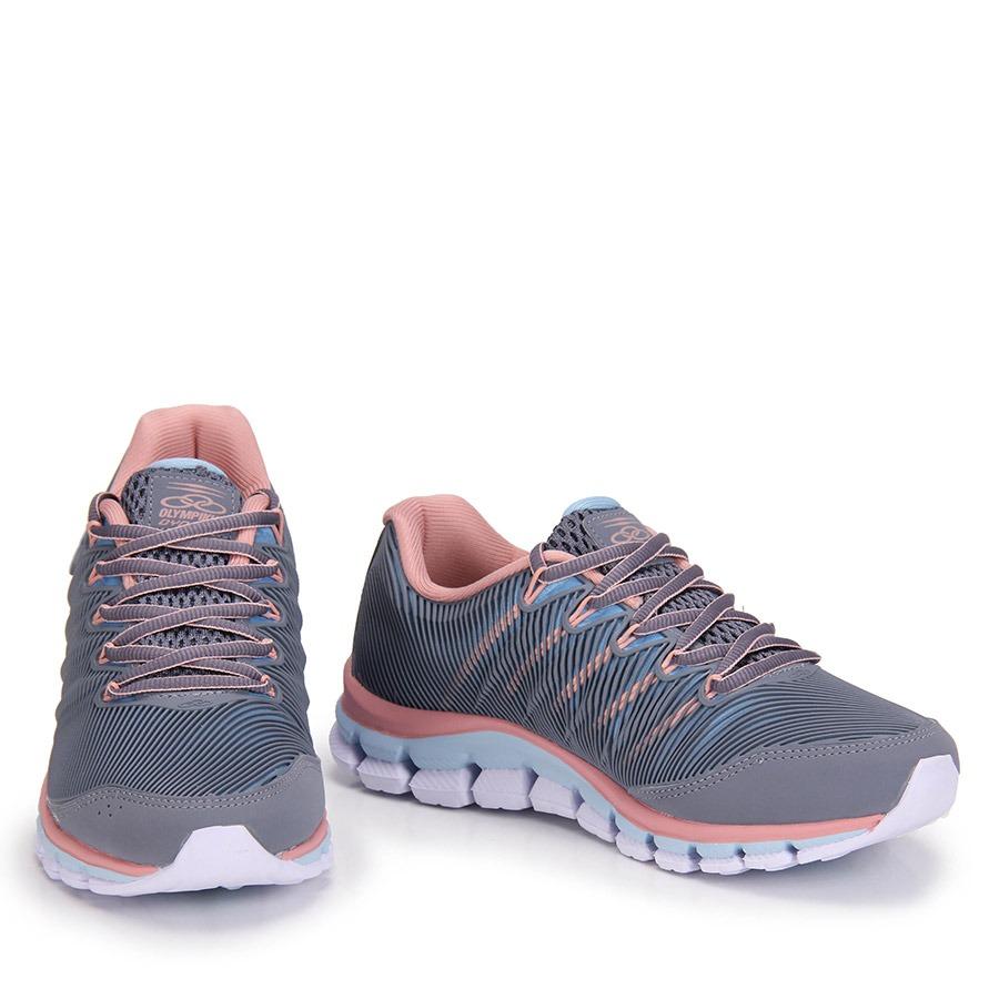 3037e8714 Tenis Training Feminino Olympikus Dynamic - Cinza - R$ 199,99 em ...