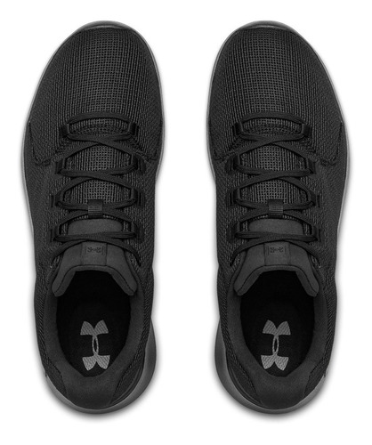 tenis under armour hombre negro  ua ripple 2.0