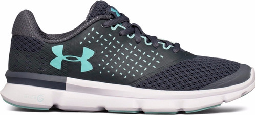 tenis under armour micro g running dama - new
