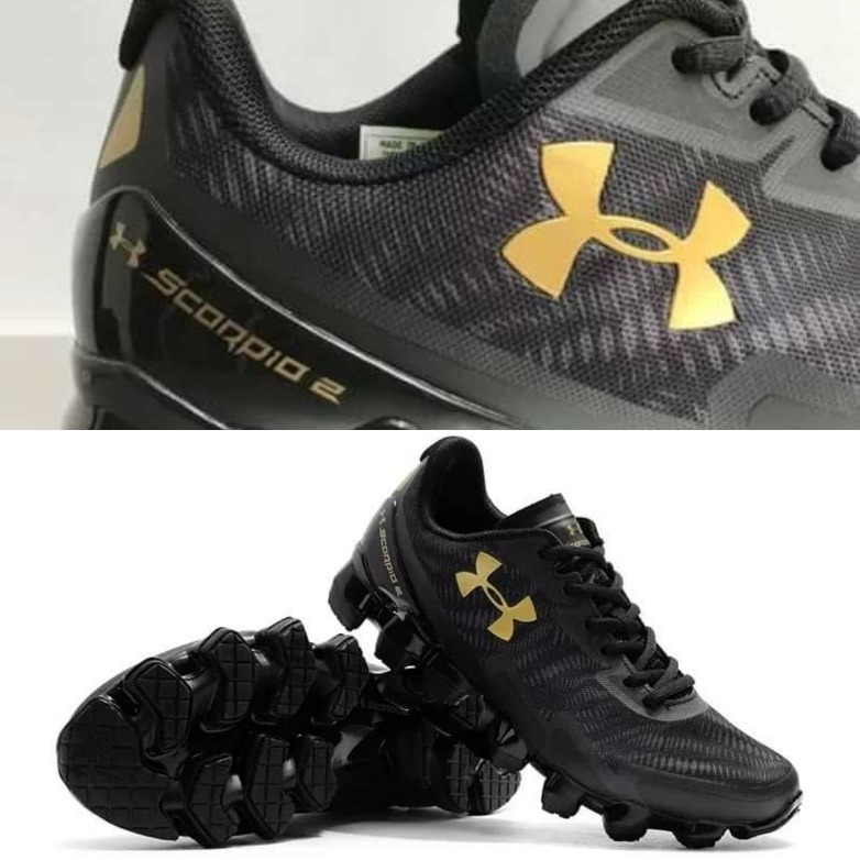factory authentic 886a4 98087 Tenis Under Armour Scorpio 2 Black/gold