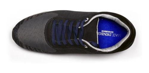 tenis unlimited azul max denegri +7cms de altura