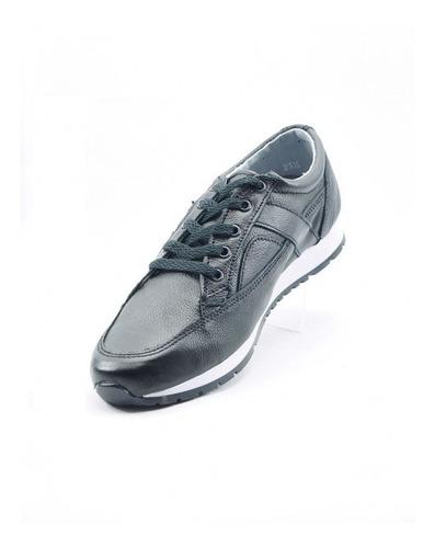 tenis urbano marca adriano borzani  flother negro 352