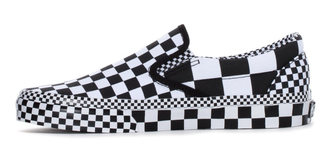 Over on Tenis All Classic Vans Checkerboard Vn0a4bv3v8u Slip dCBoQrEWex