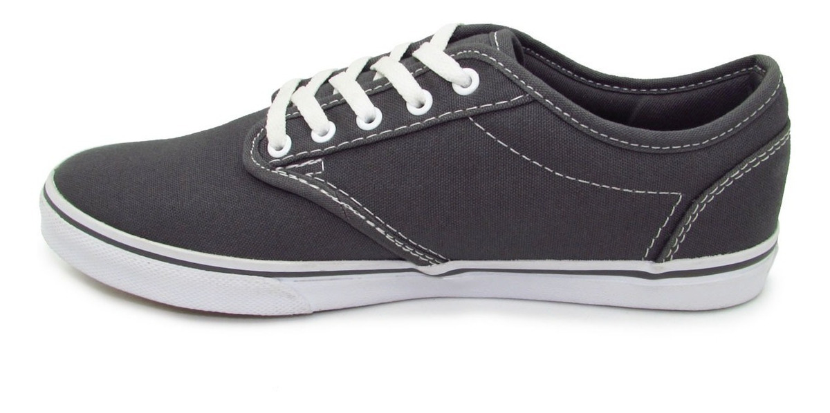Tenis Vans Atwood Low Canvas Vn000u4i4wv Pewter White