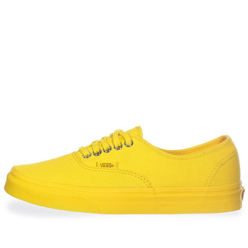 tenis vans authentic - 38emmqb - amarillo - mujer