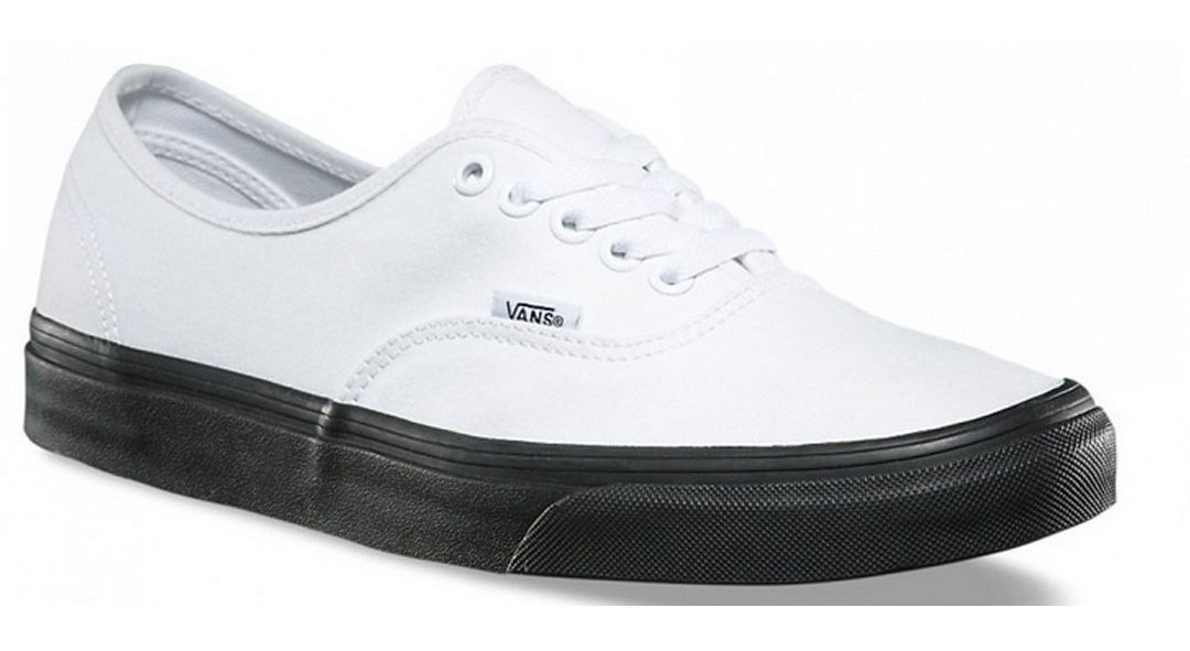 Tenis Vans Authentic Blanco Con Negro - Vn0a38emob4