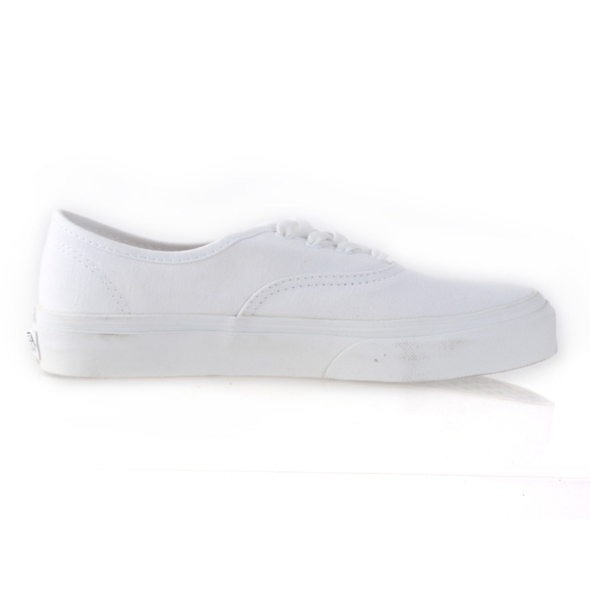 Tenis Vans Authentic Blanco Monocromo 17 Zx Originales