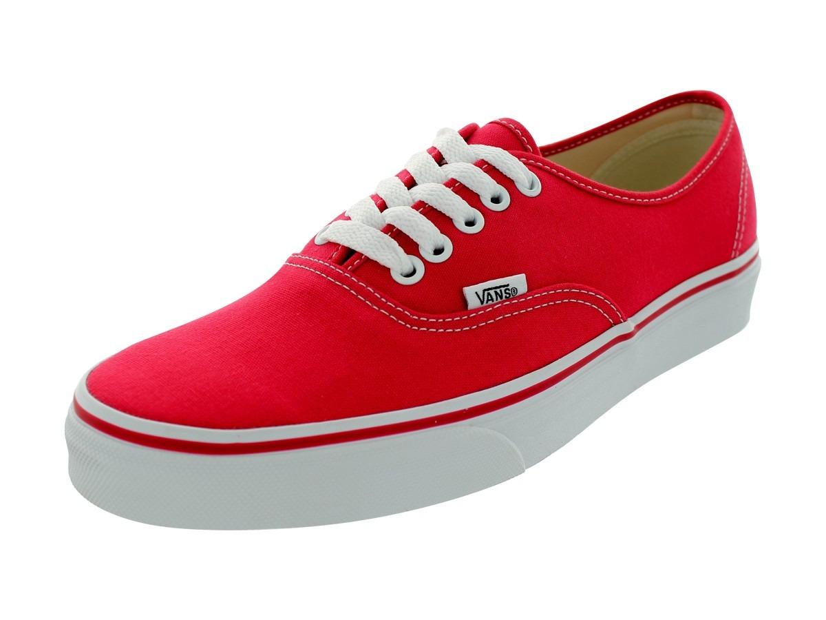 vans authentic rojos