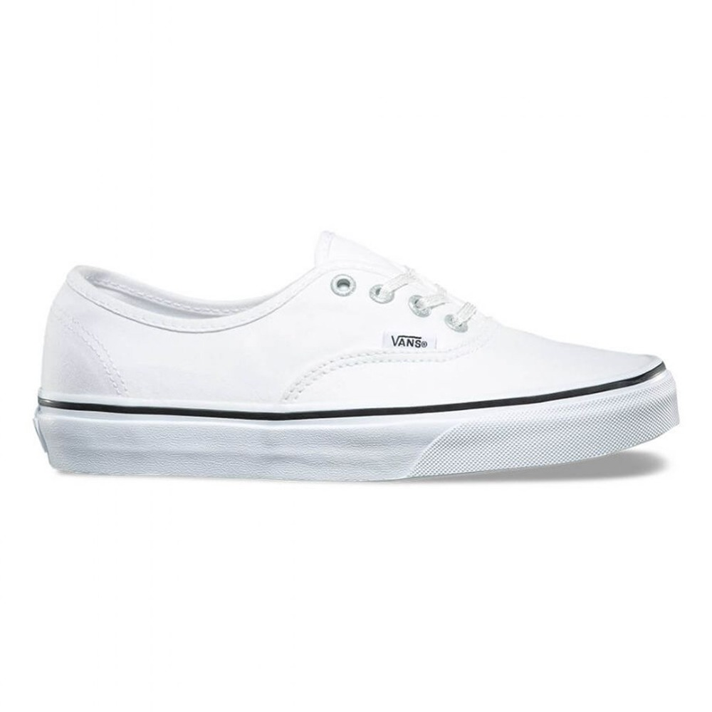 tenis vans authentic eyelets true white branco. Carregando zoom. 78939d72f8c66
