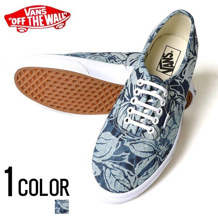 56642123e4f Tenis Vans Authentic Indigo Tropical Blue True White De Dama ...