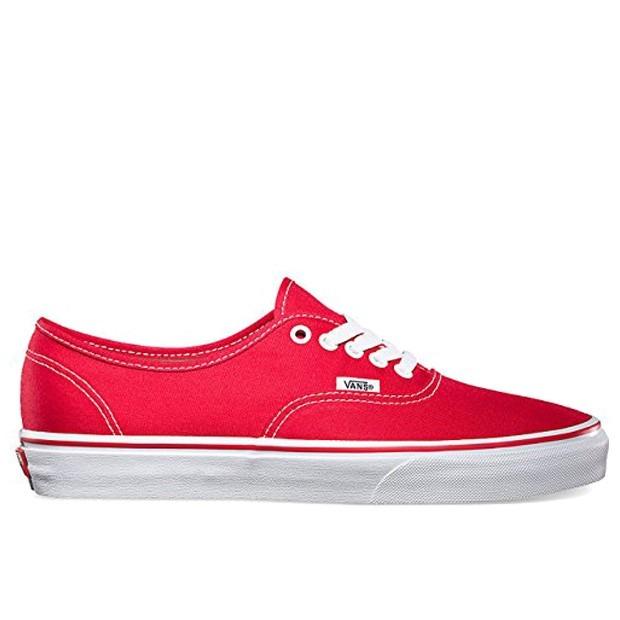 vans rojos originales