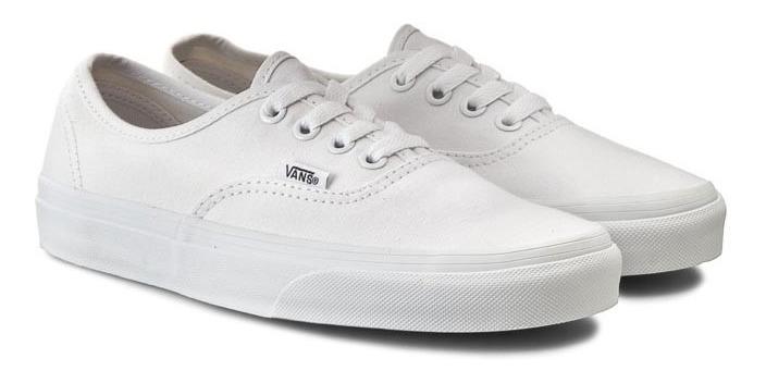 vans white hombre