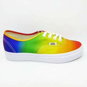 89bba7803 Tenis Vans Authentic Vn0a38emmou Dalla Clayton Rainbow