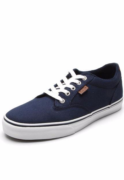 4d9e8870051 Tenis Vans Azul Marinho - R  60