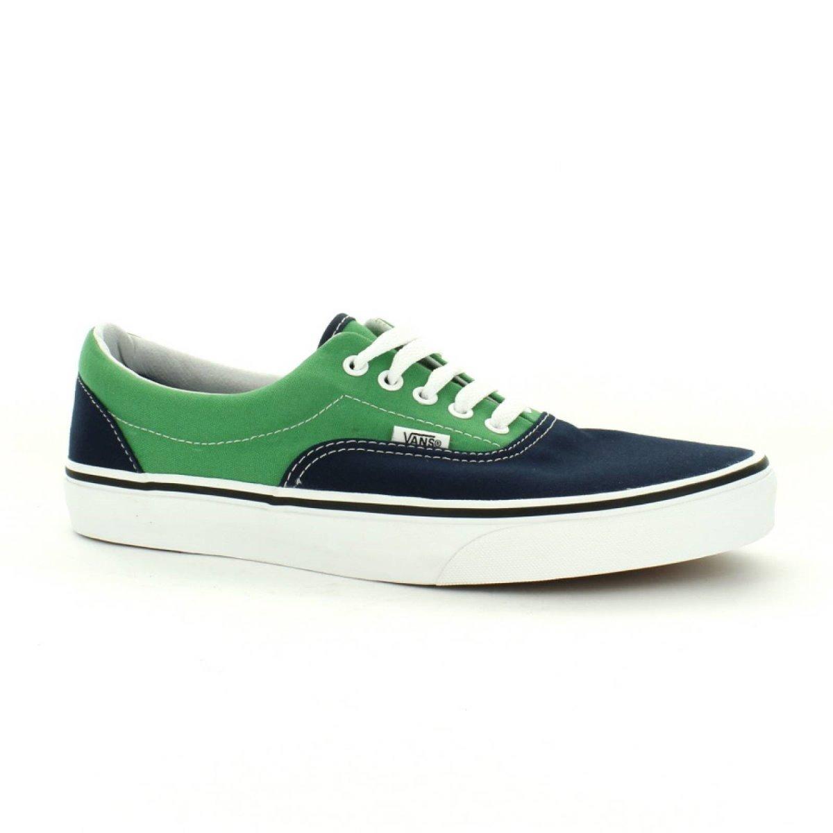 vans azul verde