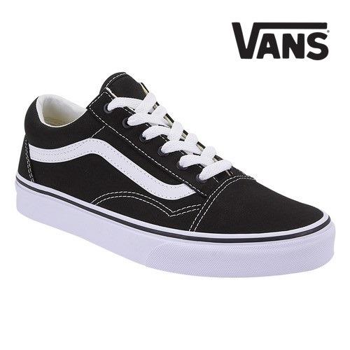 56a4829513288 Tenis Vans Casual Para Mujer Color Negro Mod.586444 -   1
