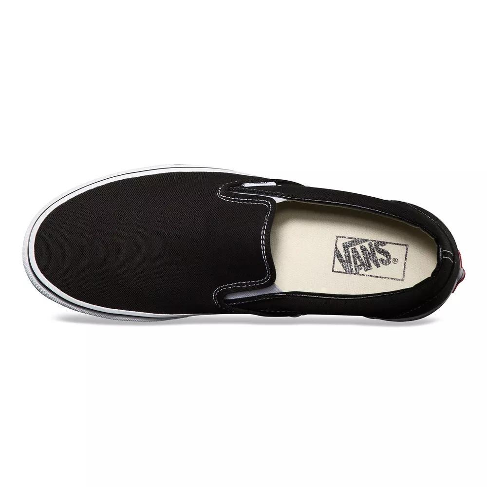 9f4921bb606 tenis vans classic slip-on black original + nota fiscal. Carregando zoom.