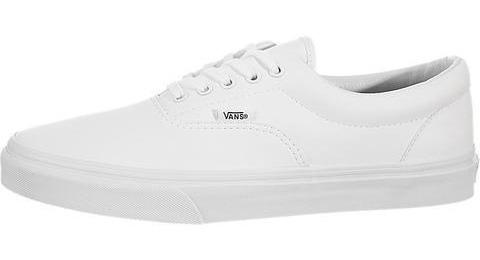 Tenis Vans Era Blanco Tallas De #25 A #28 Hombre