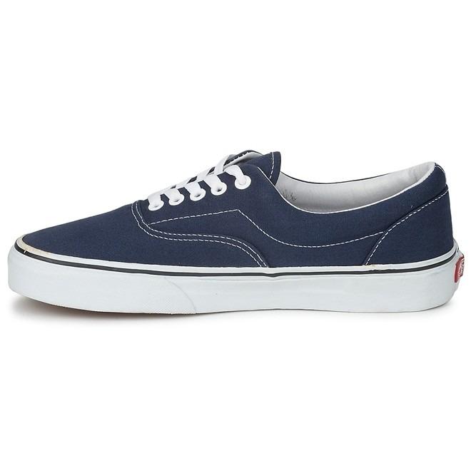 2f5ab9464f Tenis Vans Era Canvas Azul Marinho Navy Casual Skate - R  179