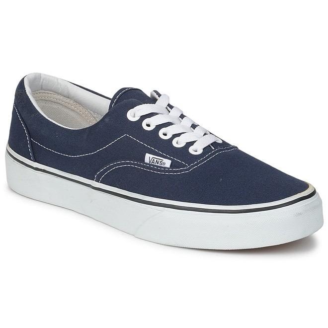 25216d65ee Tenis Vans Era Canvas Azul Navy Casual Skate - Original - R  139