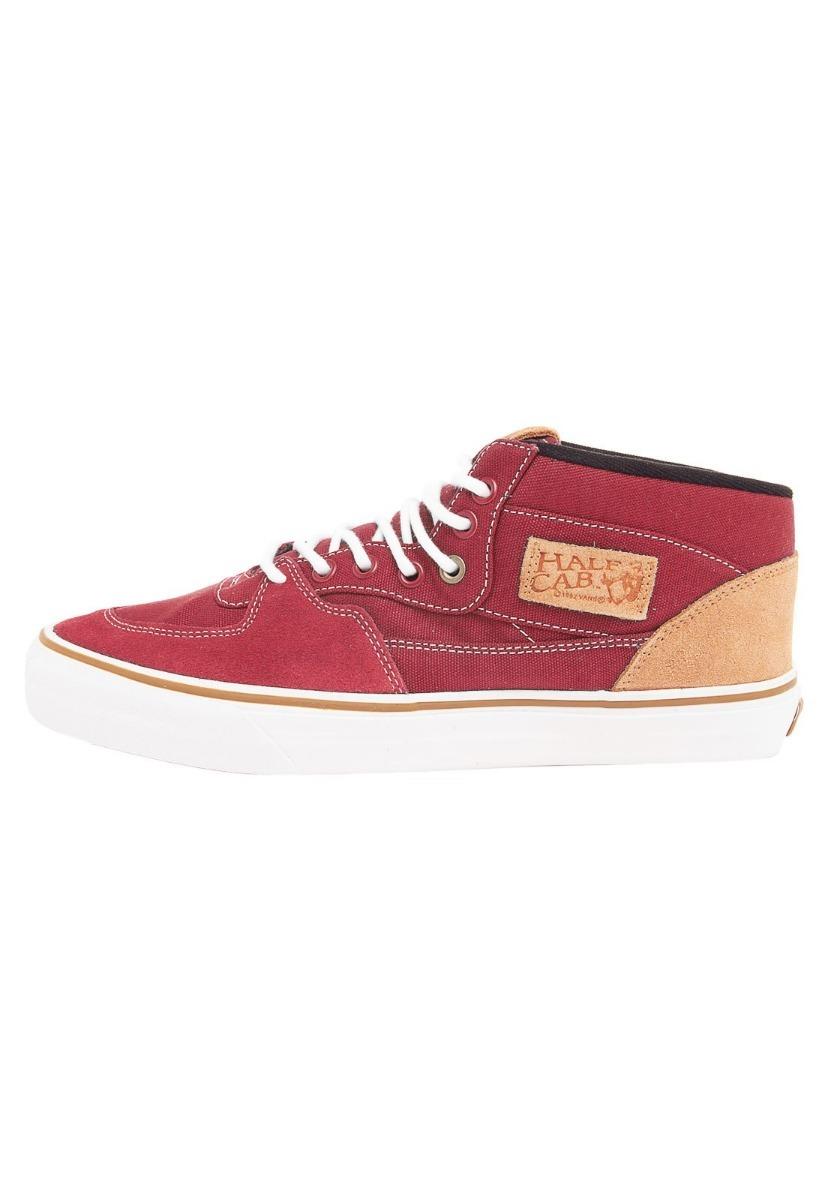 ... 75203beba0e Tenis Vans Half Cab Canvas Brick Red 7881 Original - R  299 b41428be8763b