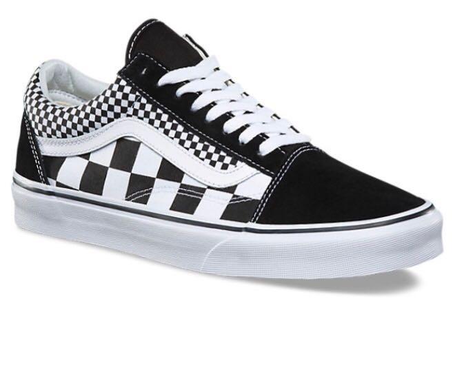6643a0916f6 Tenis Vans Old Skool Checkerboard Mix Hombre -   1