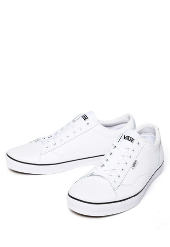 zapatos vans hombres blancas