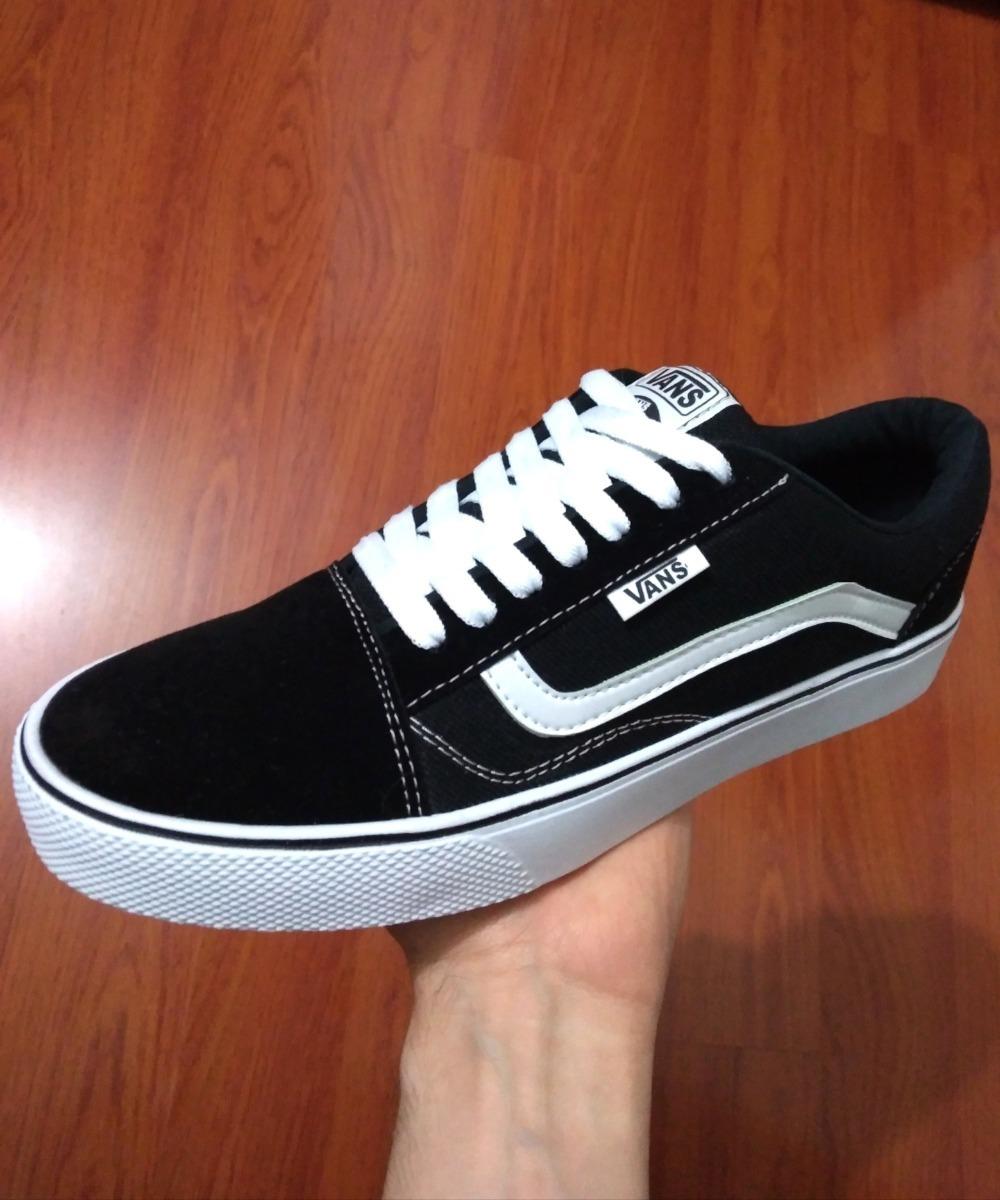 Original Vans SK8 Hi Slim (Aruba BlauwTrue Wit) Skate