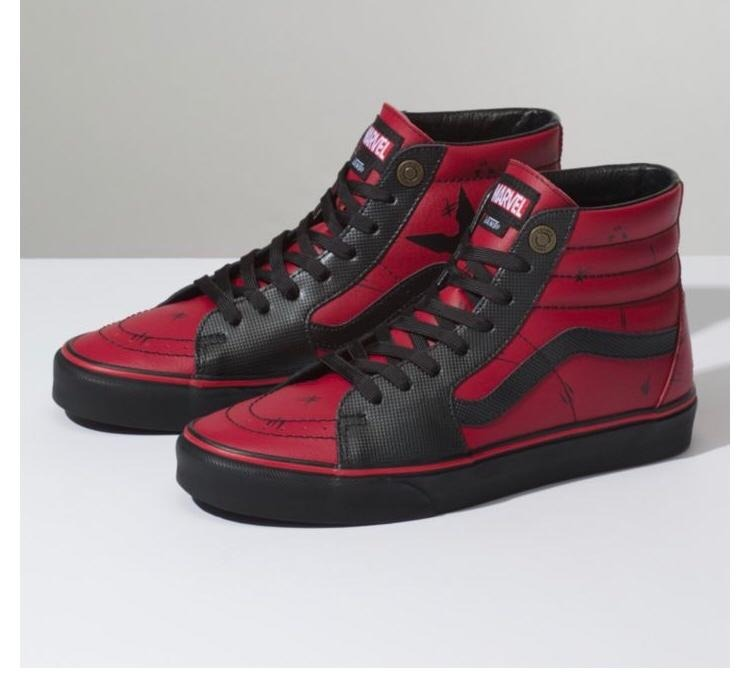 Tenis Vans Marvel Deadpool