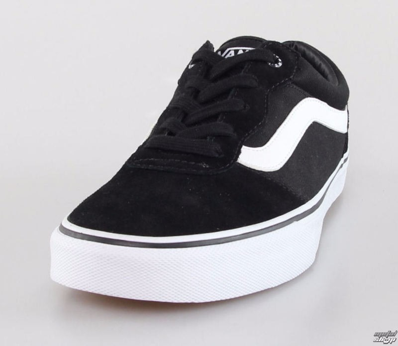 tenis vans milton canvas black white preto e branco 3344 aci. Carregando  zoom. 853a7bb8642