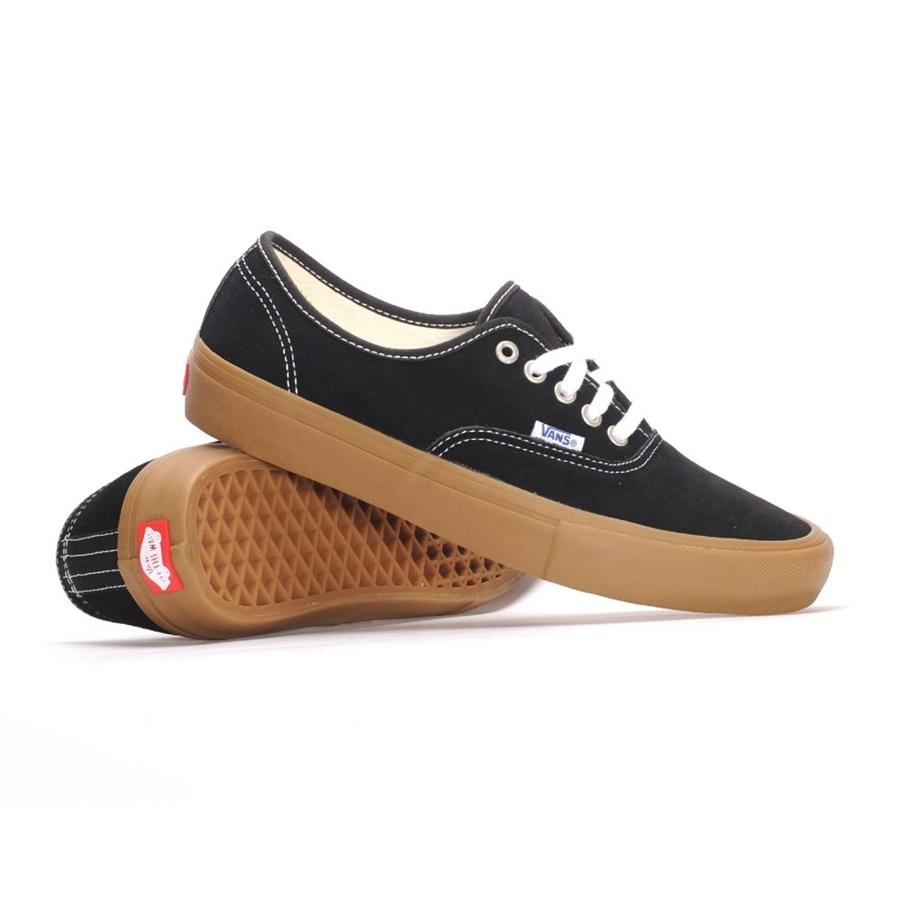 0c1b3847647 Tenis Vans Mn Authentic Pro 43 Preto gum Light - R  297