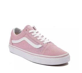 Tenis Vans Mod. 497006 Old Skool Skate Unisex Color Rosa J