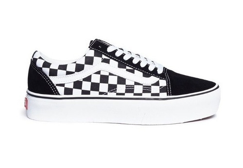 tenis vans old school quadriculado original