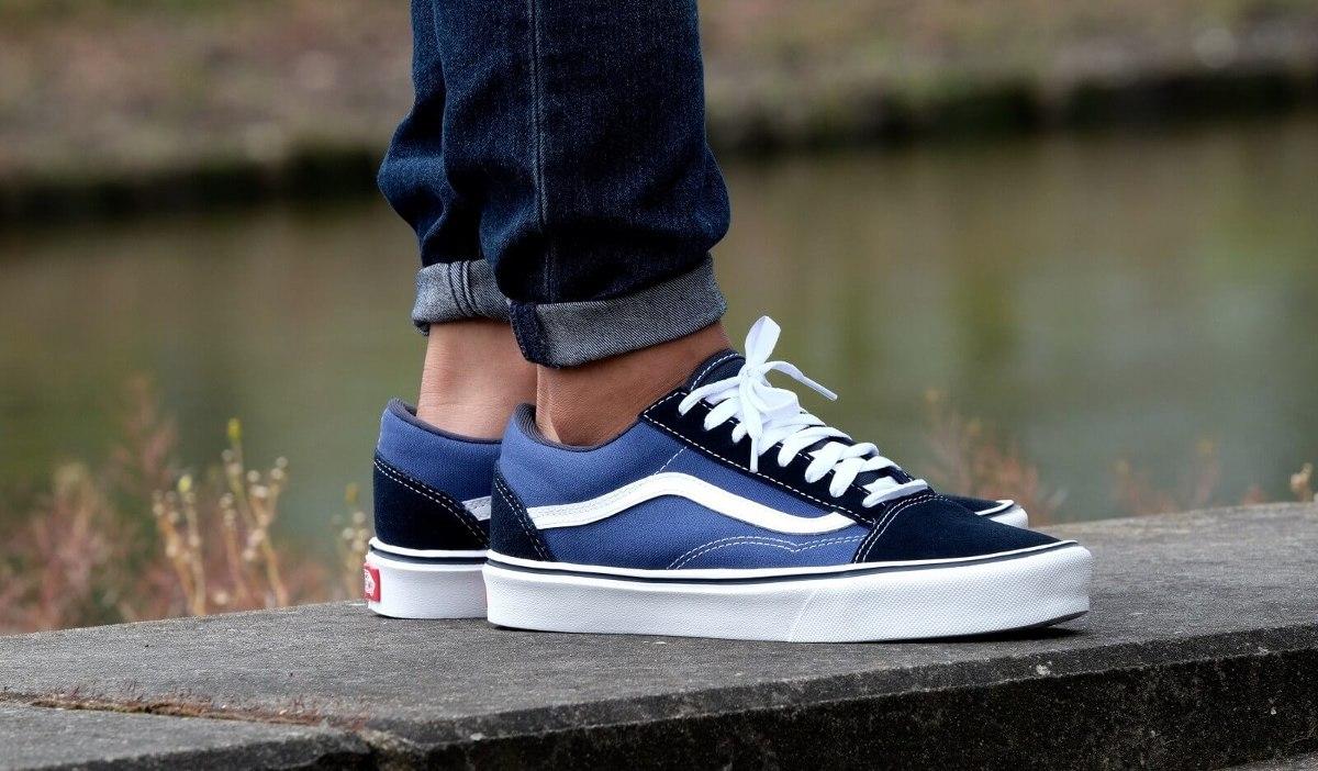 Vans Blue Suede Shoes