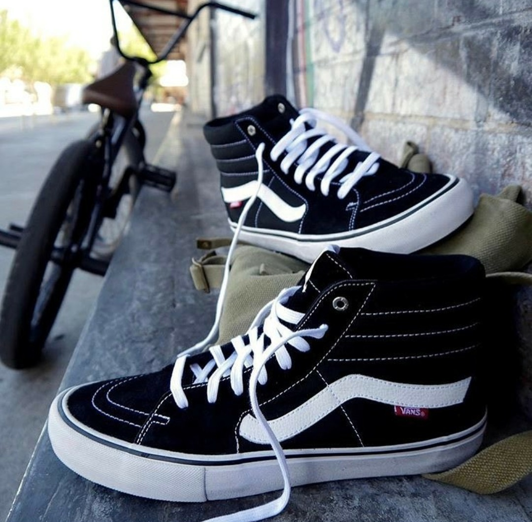 bota vans old school