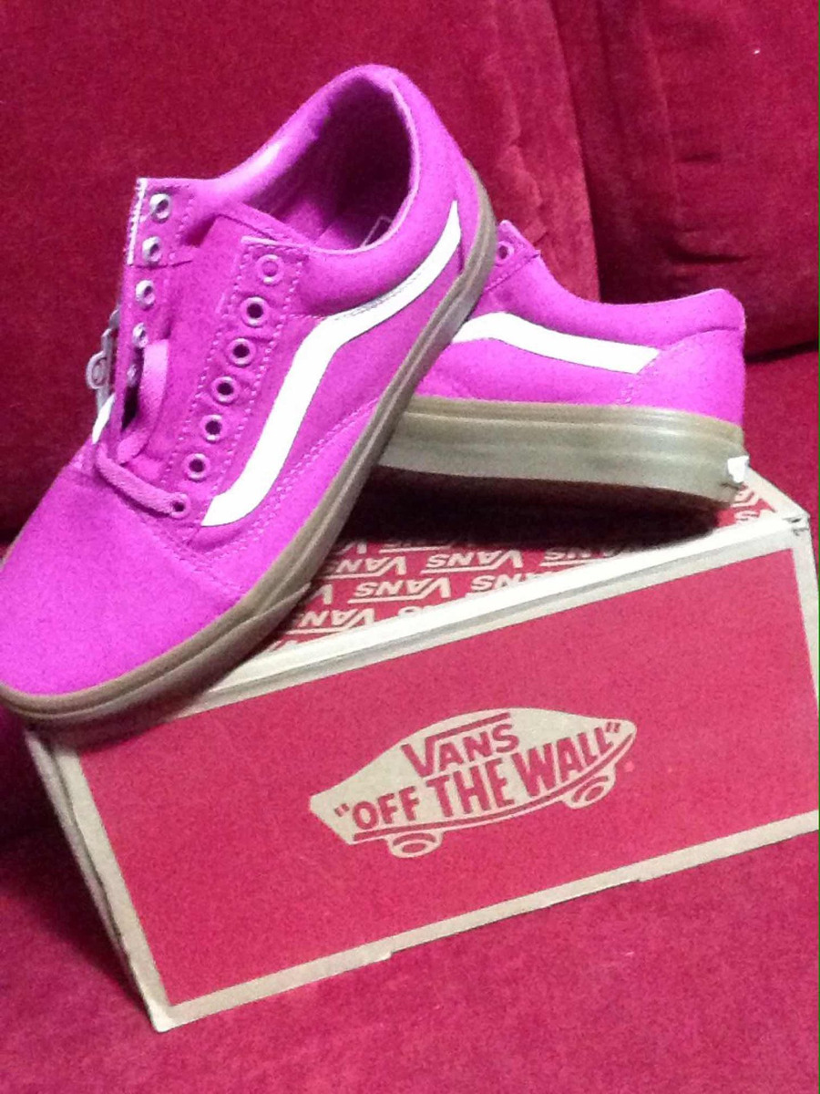 67f3eb6e6087 Tenis Vans Old Skool (light Gum Raspberry Rose)  25.5 -   899.00 en ...