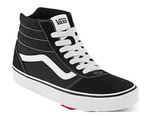 zapatos vans negros altos